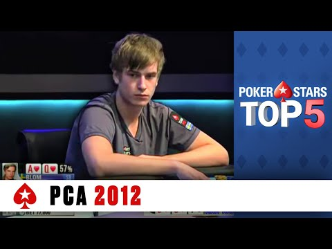 Top 5 Poker Moments - PCA 2012 | PokerStars.com