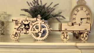 Model Tractor's trailer