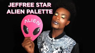 JEFFREE STAR ALIEN PALETTE REVIEW/TUTORIAL (First Impressions)