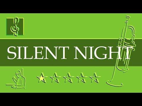 Trumpet Notes Tutorial - Silent Night - Gruber - Christmas Song (Sheet Music)