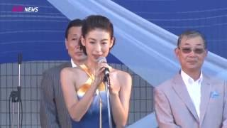 台湾FESTA2016 大久保麻梨子&舞川あいく挨拶 大久保麻理子 動画 19