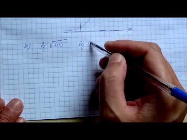 11. o. Logaritmus fogalma, egyszerű logaritmikus egyenletek