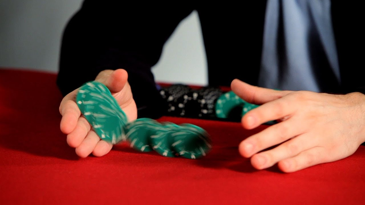 Poker chip trick thumb flick sls blackjack