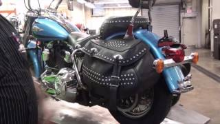 How to fix your worn looking Harley Davidson Heritage Softail saddle bags.