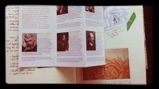 William Morris inspired...Sketchbook tour