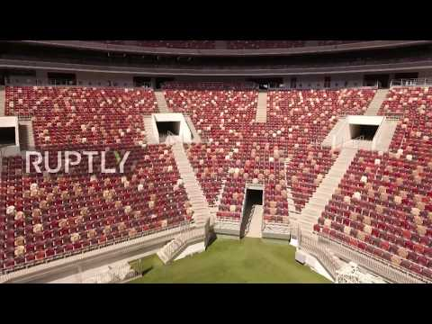 Russia: Drone captures Moscow's Luzhniki Stadium in all its stunning beauty