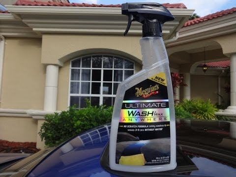 Meguiars Ultimate Waterless Wash and Wax review and test results.