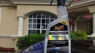 Meguiars Ultimate Waterless Wash and Wax review and test results