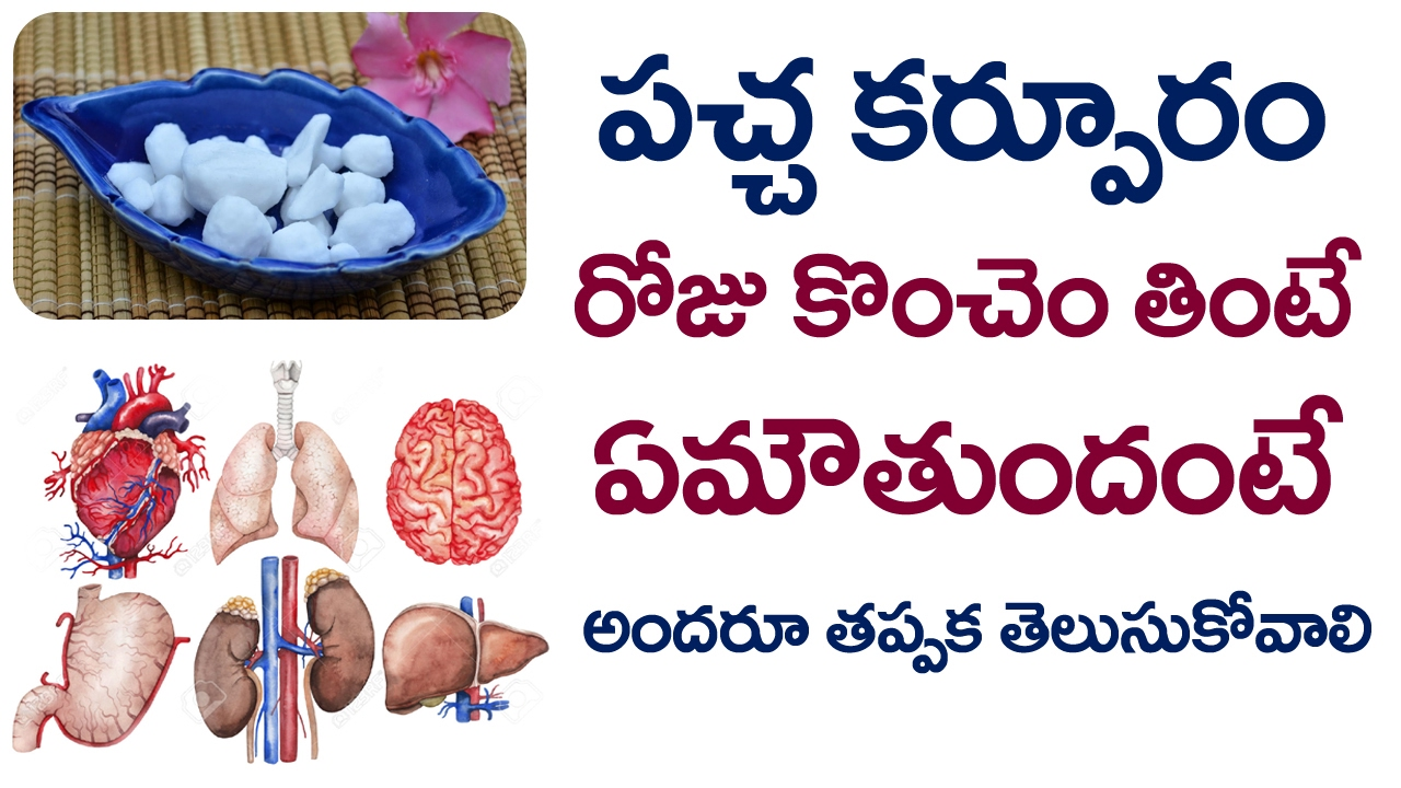 Amazing Benefits & Uses of Camphor | Pacha Karpooram Benefits | Health Tips  | VTube Telugu