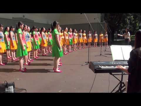 World Choir games 2014.Riga.Shenzhen Senior High School Lily Children's Choir (18.07.2014 no 10.00)