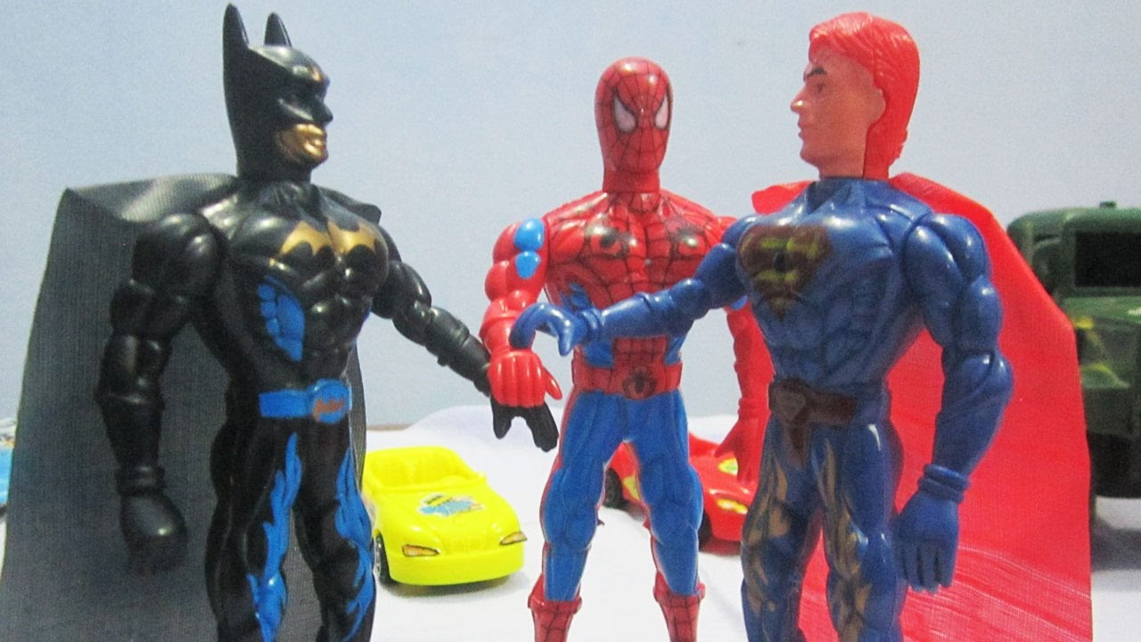 Kids Toys Action Figure: Superheroes And Super Powers