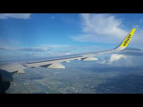 La Guardia (LGA) to Fort Lauderdale (FLL) flight Take off and landing!