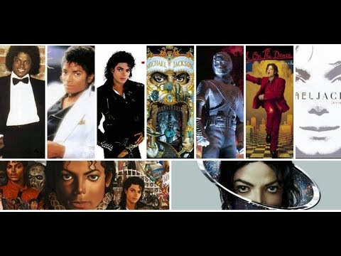 Michael Jackson - Album Discography - Music Evolution (1979 - 2014)