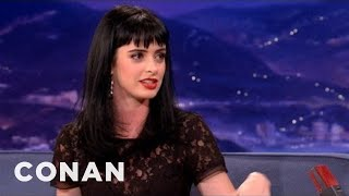 "Krysten Ritter's ""Playboy"" Appearance - CONAN on TBS"