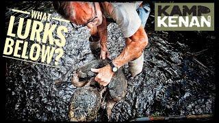 cleaning-the-saltwater-crocodile-habitat-at-freds-kamp-kenan