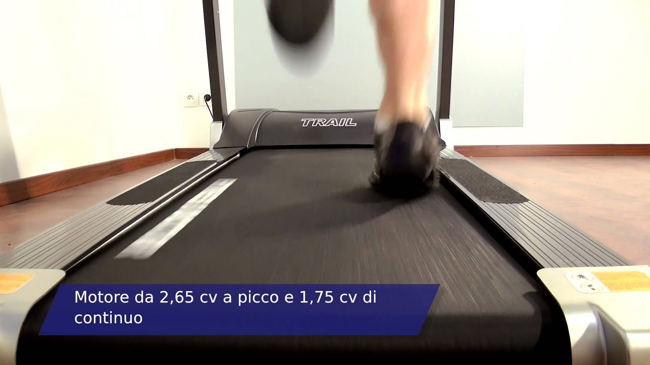 Tapis Roulant Fitness Doctor Trail Youtube