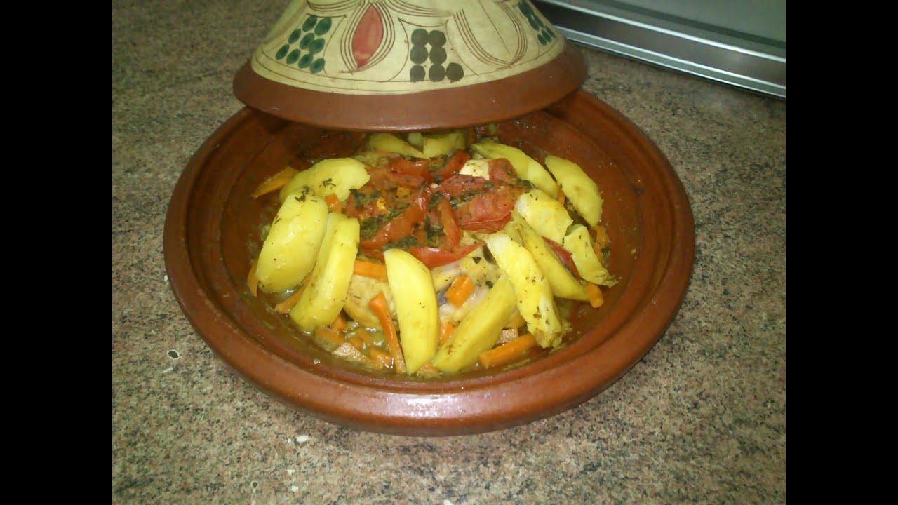 Cocina Marroqui Tajin | Tajin De Pollo Y Verdura Comida De Marruecos Youtube