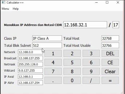 demo calculator ++(code python in description)