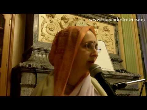 Lecture on Grihastha Ashrama by Urmila Devi Dasi