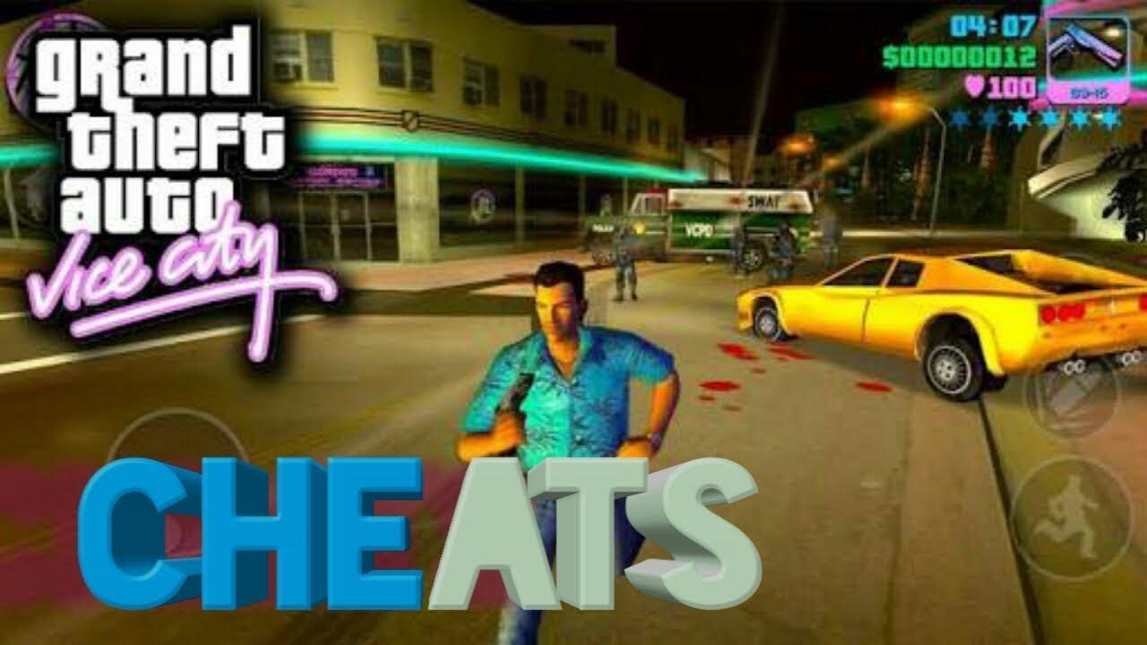 Gta Vice City All Cheat Code Pdf