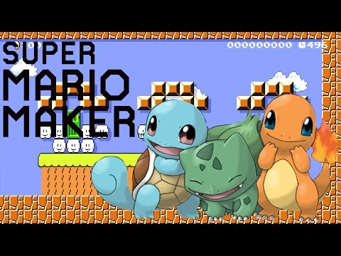 Super Mario Maker Wii U - Pokemon I Choose You [11]