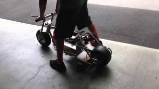 Fully Built Stroker Drag Mini Bike