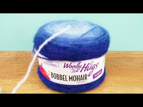 Bobbel Mohair Woolly Hugs Super Kuschel Schal Im Puffstich