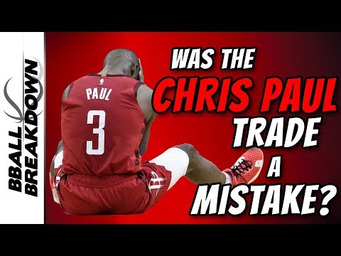 Warriors At Rockets Game 6: Was The Chris Paul Trade A Mistake?