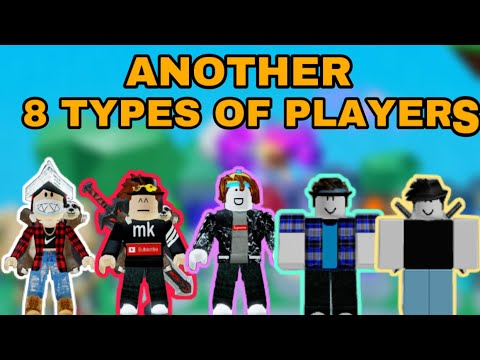 ANOTHER 8 TYPES OF PLAYERS IN NINJA LEGENDS