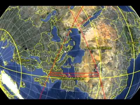 HIDDEN ILLUMINATI NEW WORLD ORDER MASONIC PYRAMID ON GOOGLE EARTH
