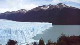 ice falling from perito moreno glacier argentina 2 of 2