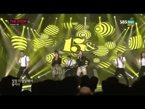 Live HD 140603 15 피프틴앤드   Sugar슈가 @SBS The Show
