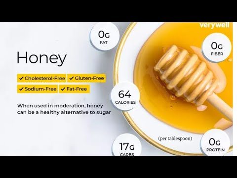 Honey nutrition facts and health benefits!
