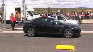 Mazda RX-8 vs Golf VR6 Turbo