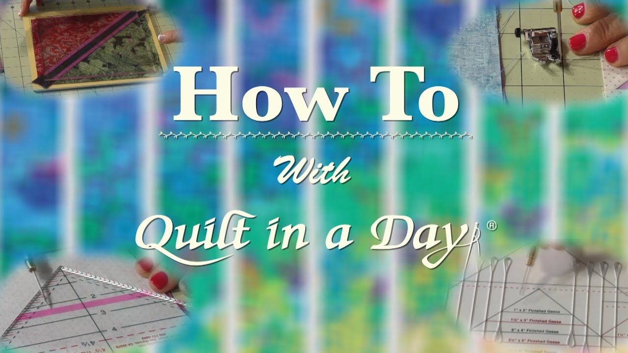 How To: Color Wheel Quilt - YouTube : quilt in a day videos - Adamdwight.com
