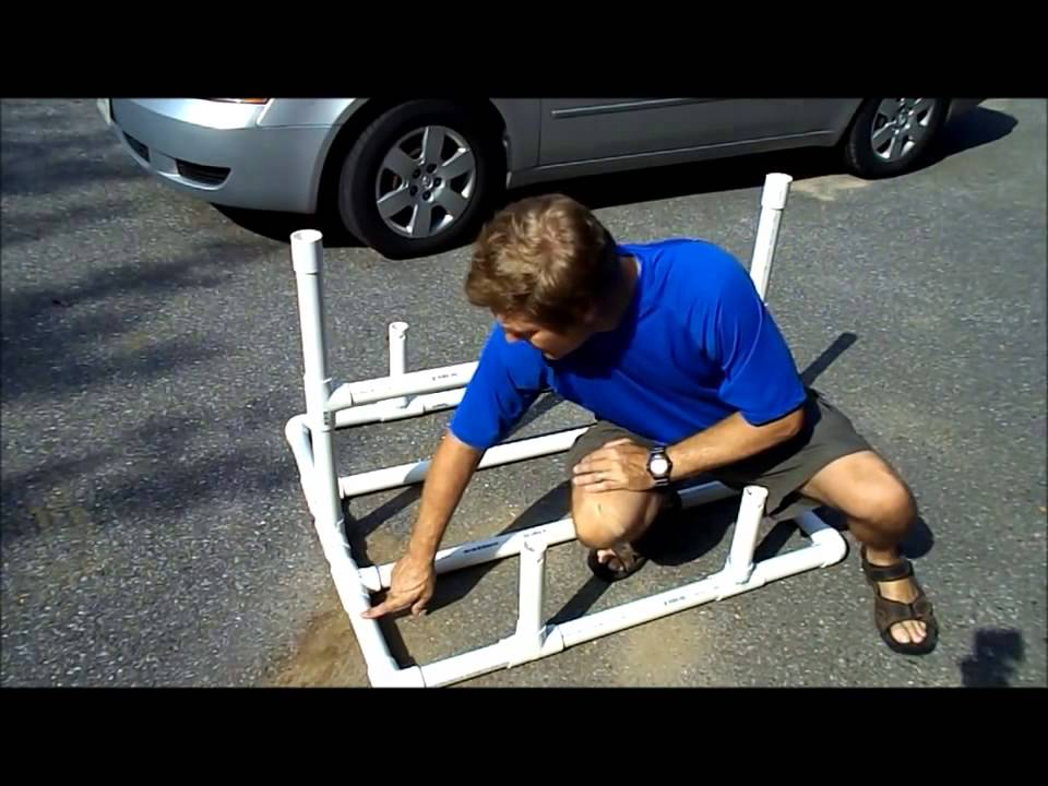 Pvc Dual Kayak Roof Rack For 50