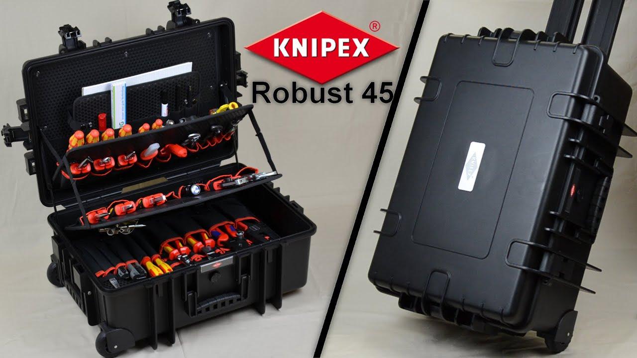 knipex werkzeugkoffer robust 45 und werkzeuge review. Black Bedroom Furniture Sets. Home Design Ideas