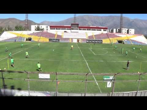 Christian Lovrincevich Union San Felipe 2016 Futbol entrada en calor especifica