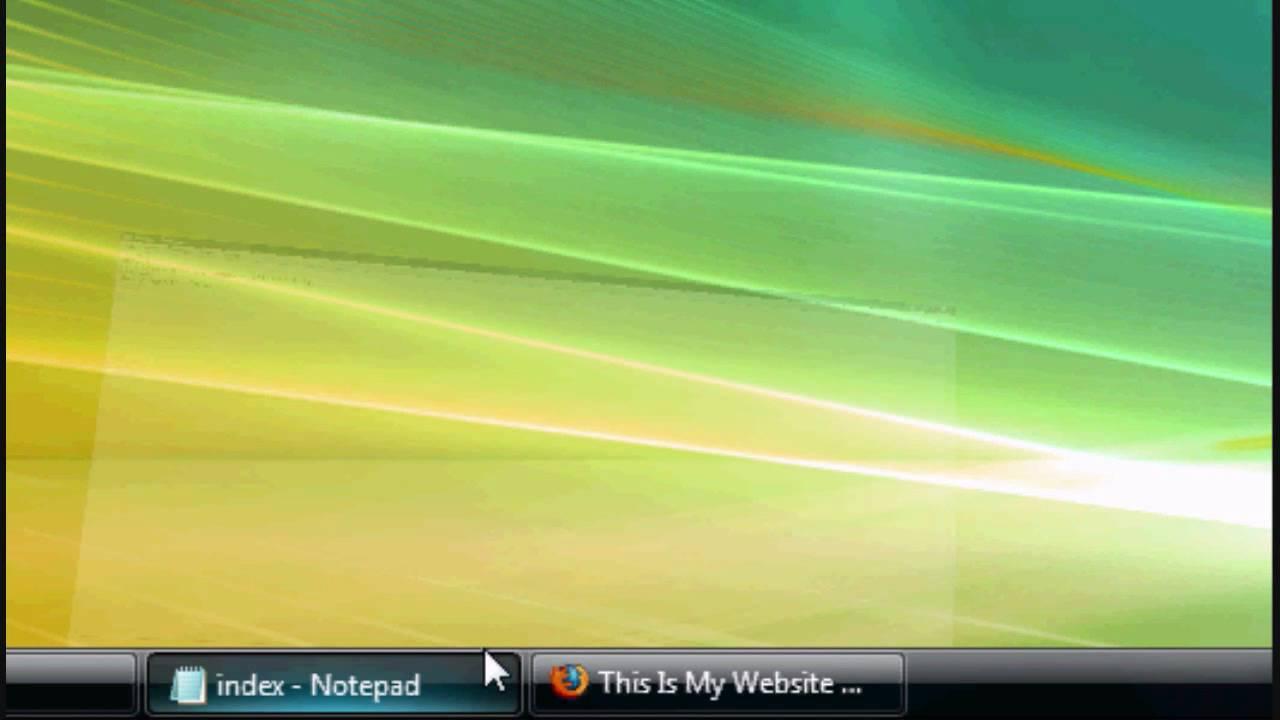 HTML Tutorial 18 - Colours, Fonts, Backgrounds Website Design