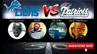 Round Table, Detroit Lions Talk