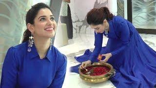 Baahubali Actress Tamanna Bhatia's Diwali 2017 Celebration INSIDE House In Mumbai