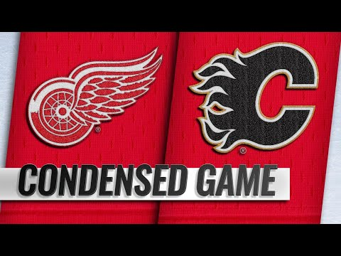 01/18/19 Condensed Game: Red Wings @ Flames