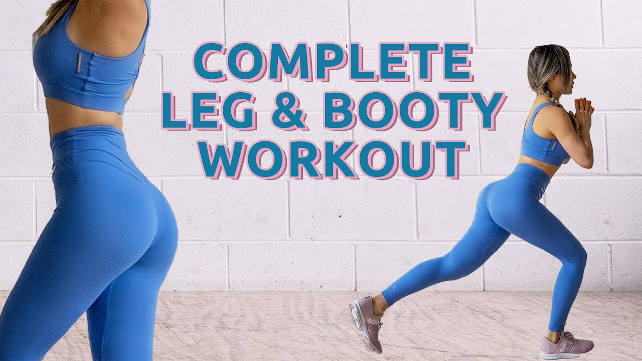 15 Mins Sexy Leg & Booty Workout 🍑 With or Without Equipment