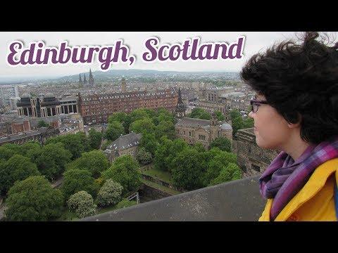 EMMA IN EDINBURGH   Travel Vlogs   BookishPrincess