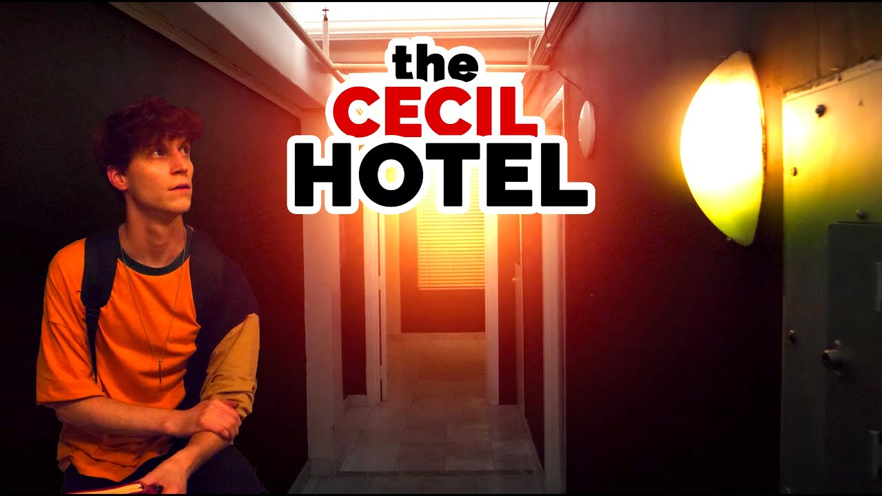 Finally Got Inside Of The Cecil Hotel😱