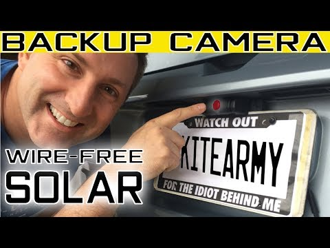 Walmart Whistler Backup Wireless Solar Camera 2018 | Best Review Install & Demo