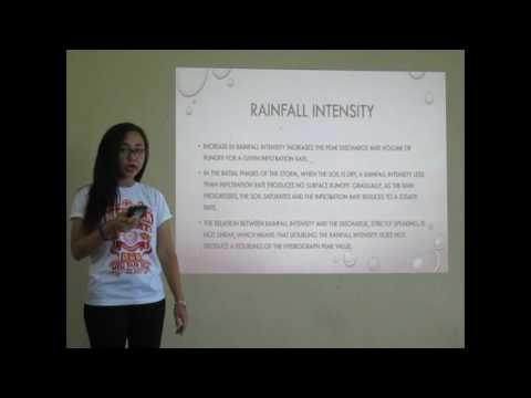 Rainfall Runoff Relationships