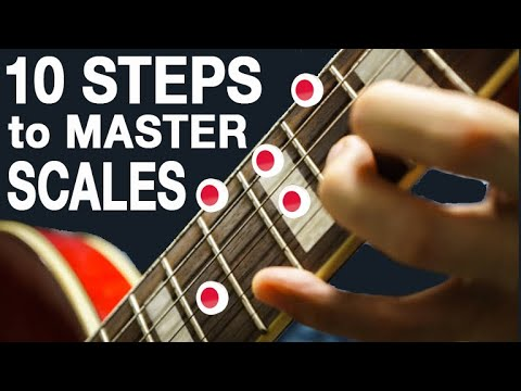 10 Step Method to Memorize Scales Once and For All (THE ONLY METHOD YOU NEED!)