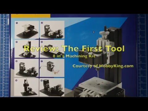 Review - The First Tool 8-In-1 Machining Kit