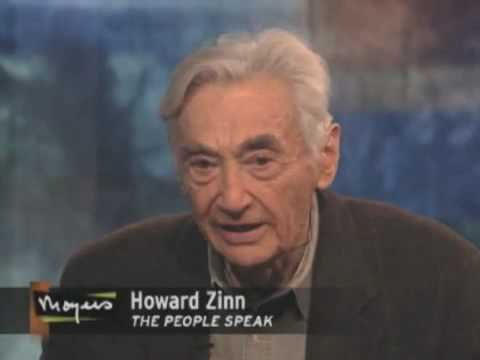 Howard Zinn Crys For the Courage of Resistance